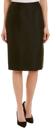 Carolina Herrera Silk-Blend Skirt