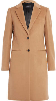 Joseph - Wool And Cashmere-blend Coat - Camel $995 thestylecure.com