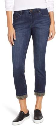 Jag Jeans Maddie Beaded Cuff Skinny Jeans