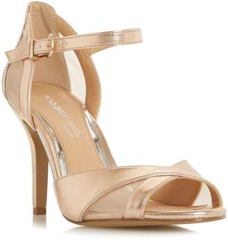 Head Over Heels Molli Cut Work Vamp Sandals