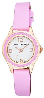 Laura Ashley Women's LA31009PK Analog Display Japanese Quartz Pink Watch $24.19 thestylecure.com