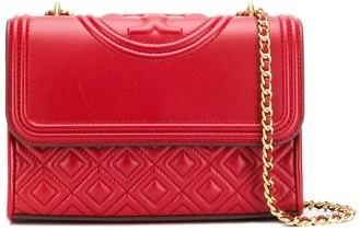 Tory Burch quilted fold-over bag