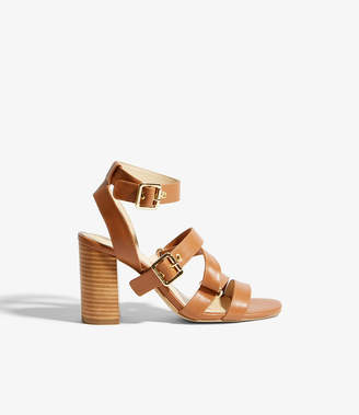 Karen Millen Strappy Buckled Sandals