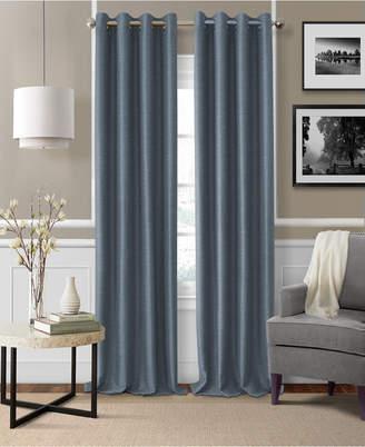"Elrene Brooke 52"" x 84"" Faux-Silk Blackout Grommet Curtain Panel"