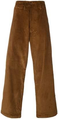 E. Tautz corduroy field trousers