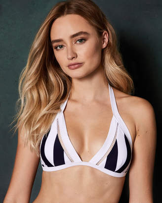 77dc44325d647 Ted Baker LOULUNA Stripe detail triangle bikini top
