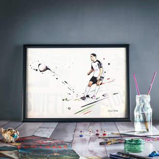 Art of Football Dempsey Chip : Fulham Print