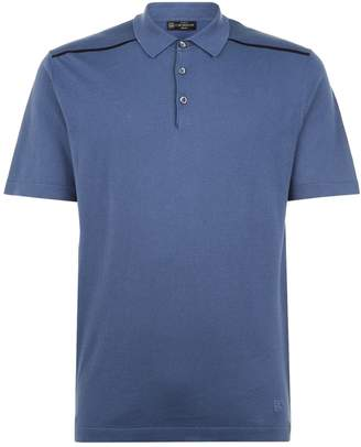 Corneliani Cotton Knit Polo Shirt