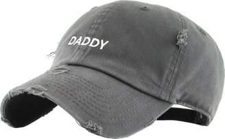 7236b0d51dcdb KBETHOS KBSV-085V DGY Daddy Dad Hat Vintage Distressed Baseball Cap Polo  Style