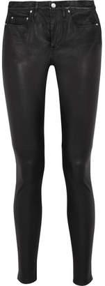 IRO Stretch-leather Skinny Pants - Black
