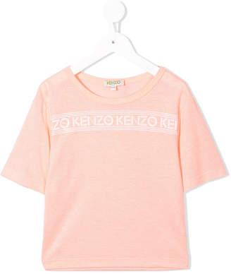 Kenzo logo banner T-shirt
