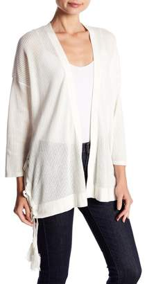 Vince Camuto Side Lace-Up Cardigan