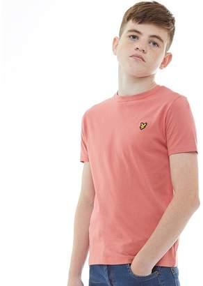 Lyle & Scott Junior Boys Classic T-Shirt Sunset Pink