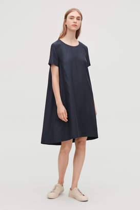 Cos BOW-DETAILED DRESS