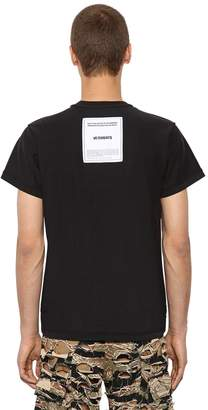 Vetements Inside-Out Cotton Jersey T-Shirt