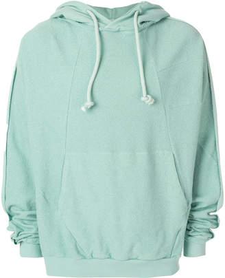 Maison Margiela oversized drawstring hoodie
