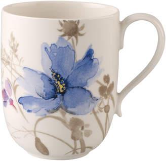Villeroy & Boch Mariefleur Grey Latte Mug 16 1/4 oz