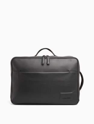 Calvin Klein convertible briefcase backpack