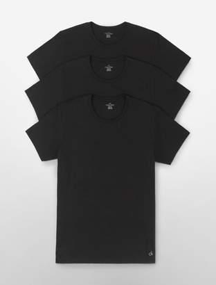 Calvin Klein cotton classic fit 3-pack crewneck t-shirt