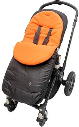 O Baby Footmuff/Cosy Toes Compatible with Obaby Atlas Chase Zezu Tour Monty Twin Pram Orange