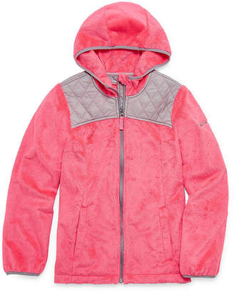 Free Country Lightweight Pattern Puffer Jacket - Girls-Big Kid