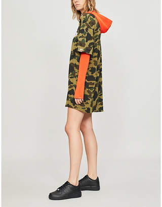 BAPE Camouflage-print cotton-jersey T-shirt dress