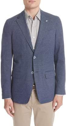 Canali Slim Fit Cotton Blazer