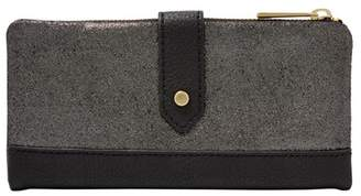 Fossil Lainie Clutch Wallet Pewter