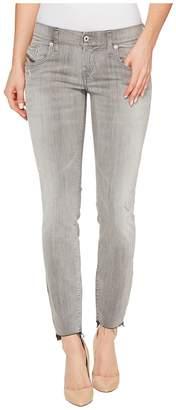 Diesel Grupee-Ankle-C2 L.32 Trousers 682Z Women's Jeans