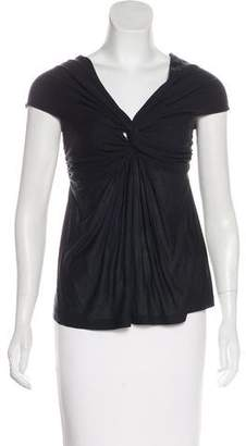 Giambattista Valli Pleated Sleeveless Top