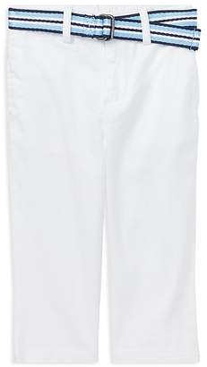 Ralph Lauren Boys' Skinny-Fit Chino Pants with Belt - Baby
