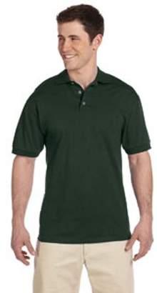 JERZEES Jerzees Adult 6.1 oz. Heavyweight Cotton Jersey Polo J100