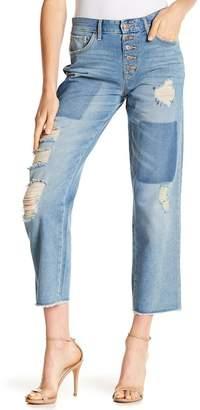Jessica Simpson Adored Crop Straight Denim