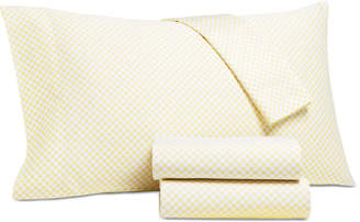 Charter Club Damask Designs Printed Dot Twin Xl 3-pc Sheet Set, 550 Thread Count