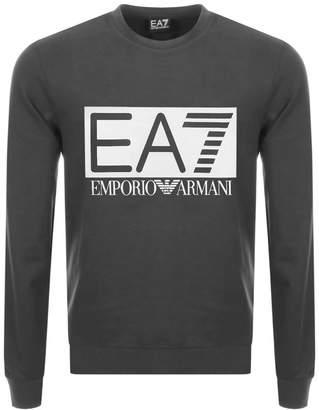 Emporio Armani EA7 Logo Sweatshirt Grey