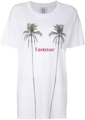 Zoe Karssen l'amour オーバーサイズ Tシャツ