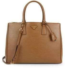 Prada Saffiano Medium Leather Satchel