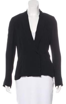 By Malene Birger Silk Notch-Lapel Blazer