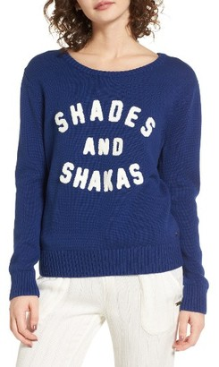 Women's Roxy Higher Ground Graphic Sweater $64.50 thestylecure.com