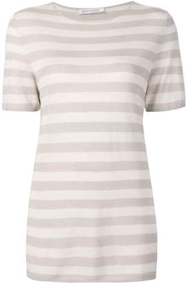 Denis Colomb short sleeved striped sweatshirt