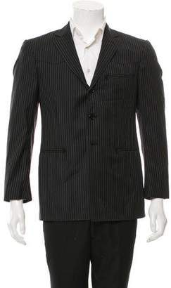 Ralph Lauren Black Label Wool Three-Button Blazer