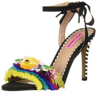 Betsey Johnson Women's Winslow Heeled Sandal