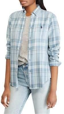 Polo Ralph Lauren Long-Sleeve Plaid Shirt