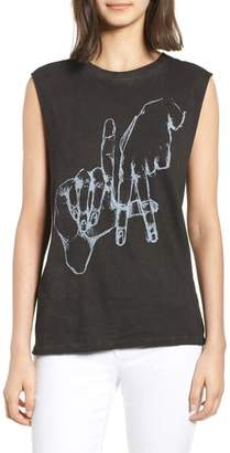 PRINCE PETER Los Angeles Graphic Muscle Tee