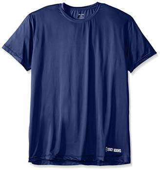 Stacy Adams Men's Big and Tall Crew Neck Tee