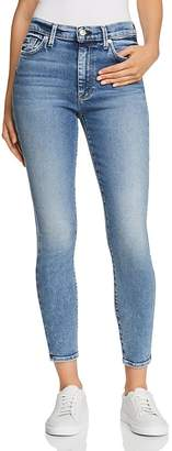 7 For All Mankind High Waist Ankle Skinny Jeans in Muse