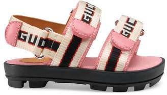 Gucci Toddler stripe sandal