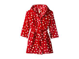 Hatley Polka Dots Fleece Robe (Toddler/Little Kids/Big Kids)
