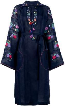 DAY Birger et Mikkelsen Vita Kin Floral embroidered sheer dress