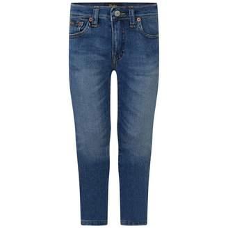 Ralph Lauren Ralph LaurenBoys Blue Skinny Fit Eldrige Jeans